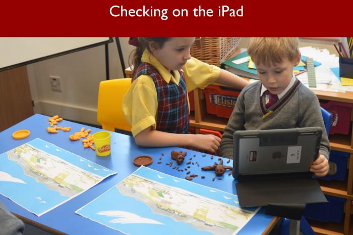 9 Checking on the iPad