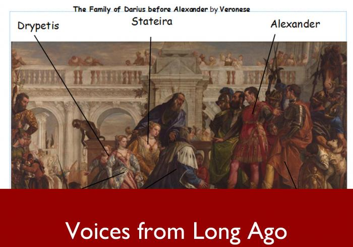 Voices From Long Ago