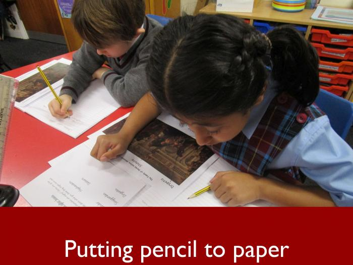 6 Putting pencil to paper