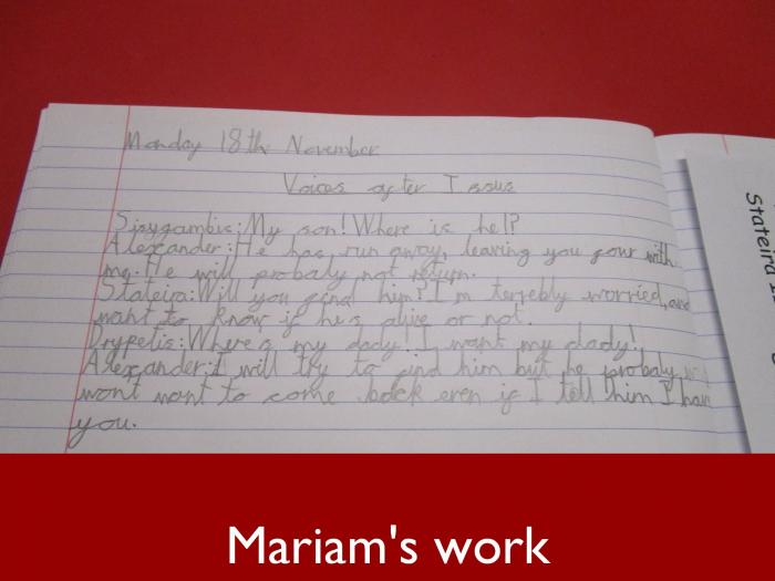 8 Mariams work