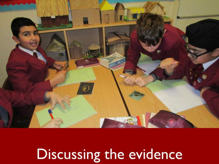4 Discussing the evidence