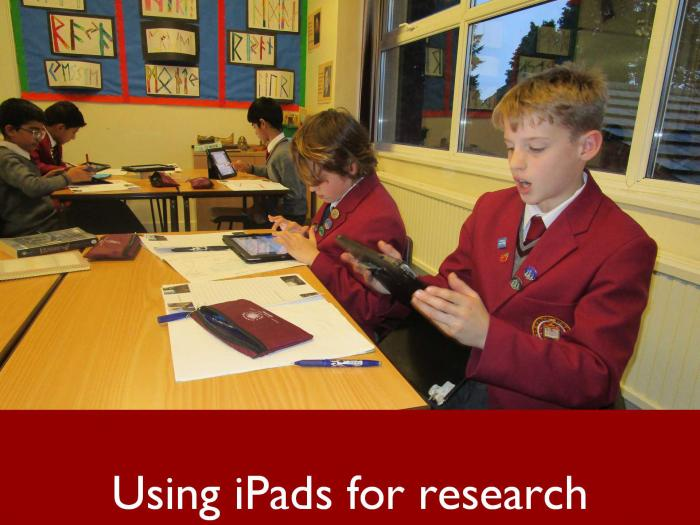 5 Using iPads for research
