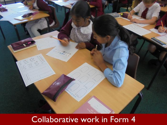 3 Collaborative work in Form 4
