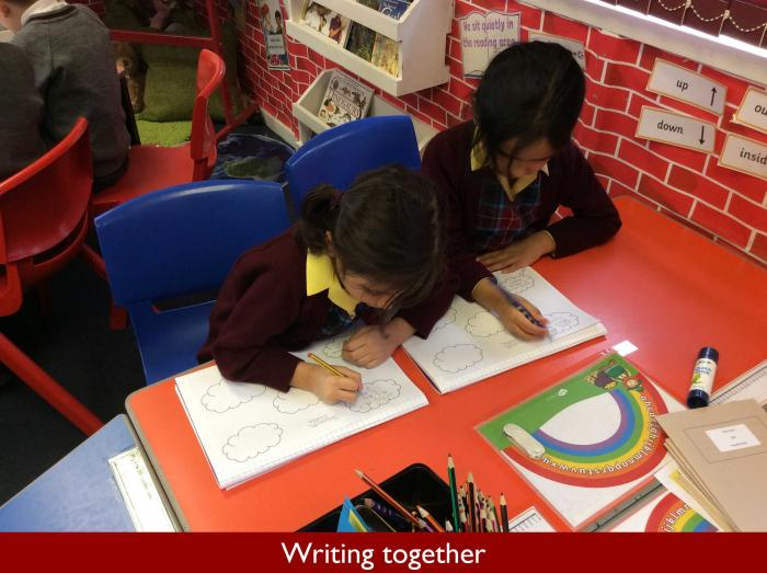 5 Writing together