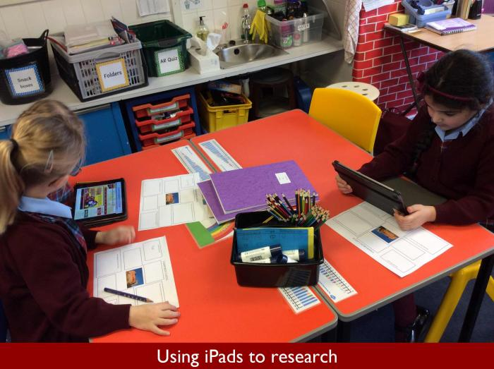 6 Using iPads to research