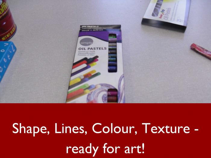 Shapes, Lines, Colour, Texture – All About Art in Form 1