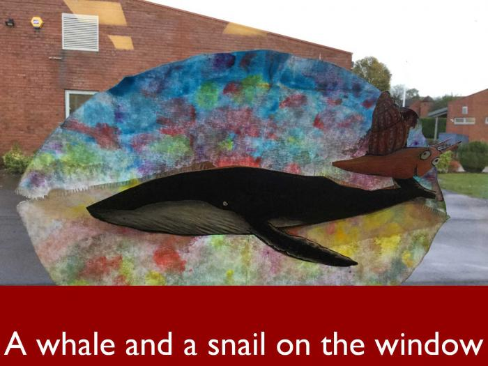 13 A whale and a snail on the window