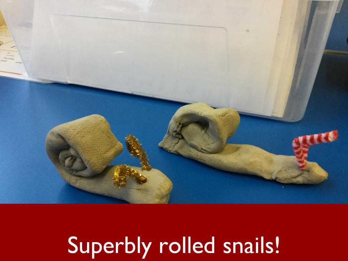 14 Superbly rolled snails