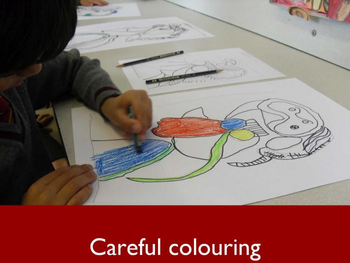5 Careful colouring