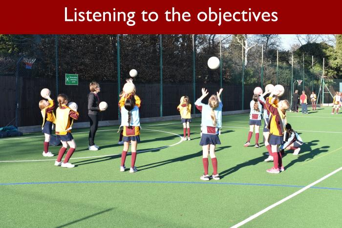 3 Listening to the objectives