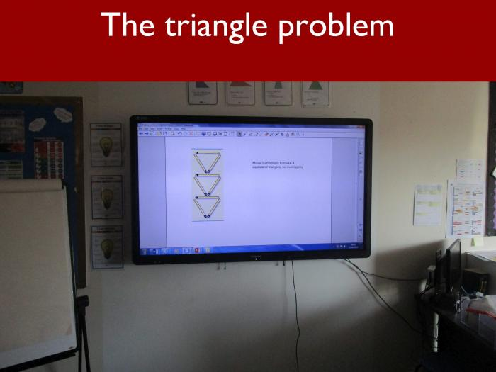 5 The triangle problem