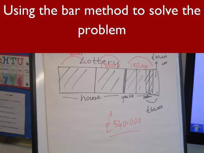 9 Using the bar method to solve the problem