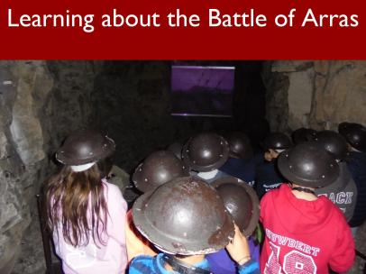 11 Learning about the Battle of Arras