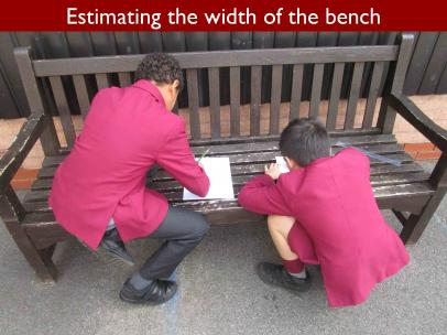 10 Estimating the width of the bench