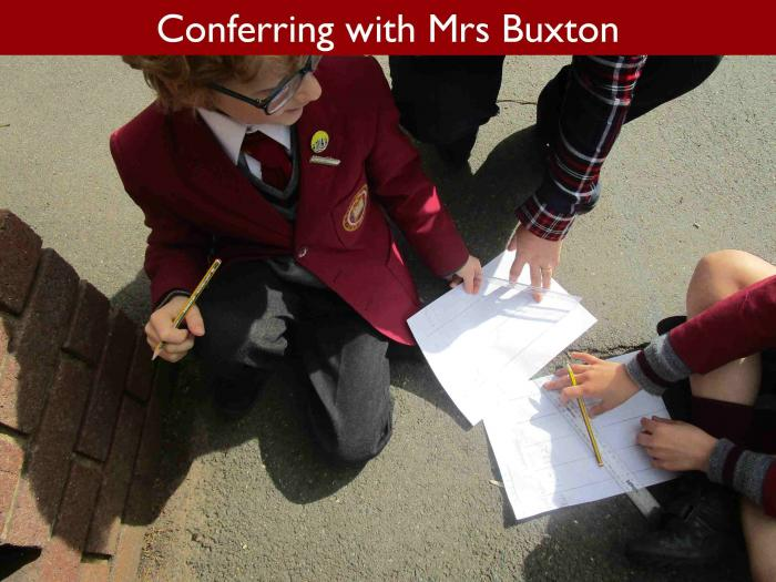 14 Conferring with Mrs Buxton