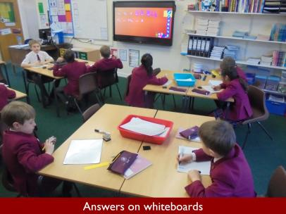 03 Answers on whiteboards