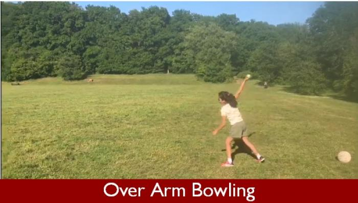 2 Over Arm Bowling