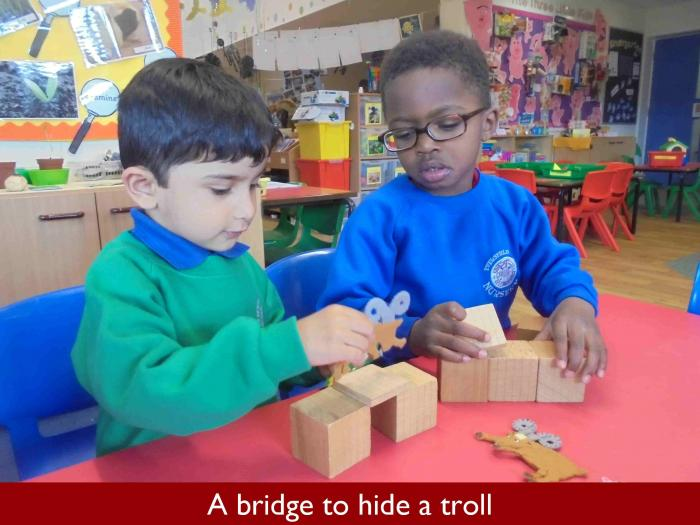 10 A bridge to hide a troll