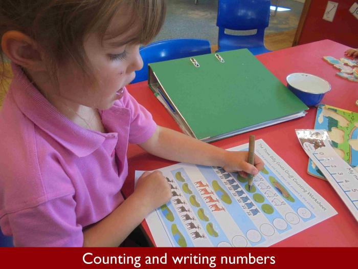 5 Counting and writing numbers