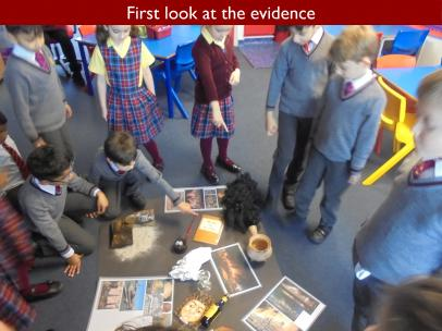 02 First look at the evidence
