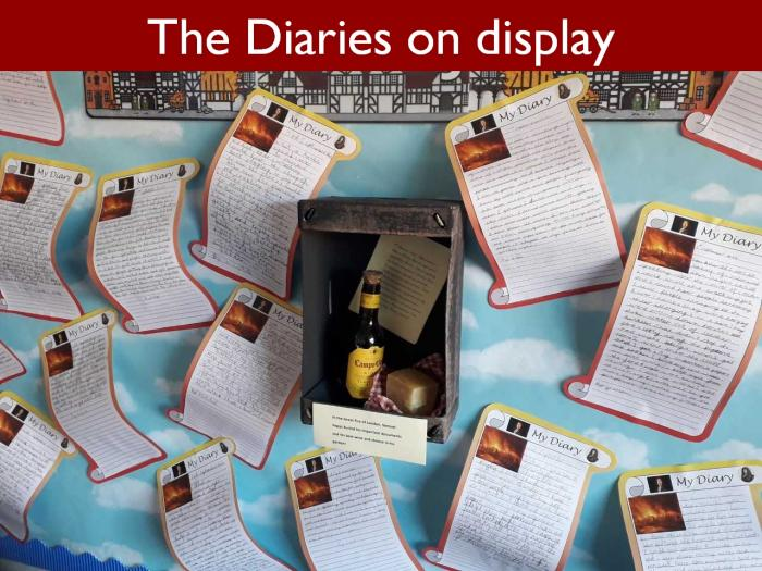 13 The Diaries on display