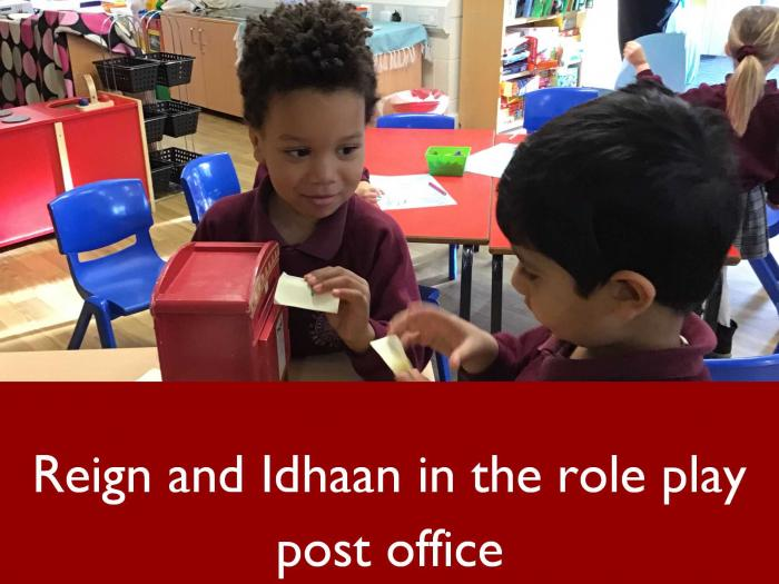 10 Reign and Idhaan in the role play post office
