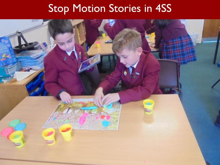 12 Stop Motion Stories in 4SS