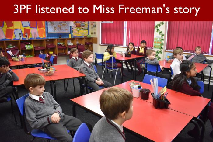19 3PF listened to Miss Freemans story