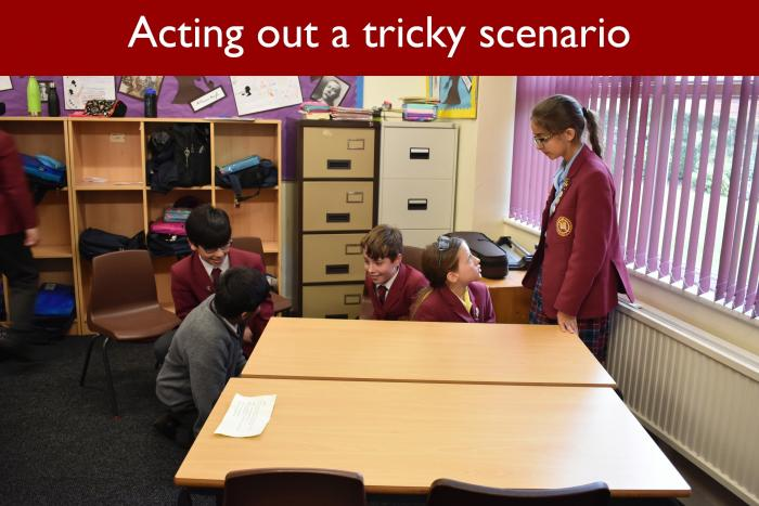 3 Acting out a tricky scenario