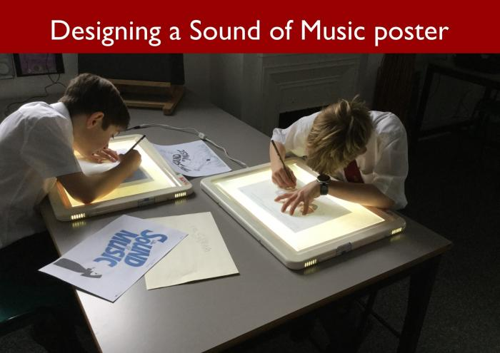 6 Designing a Sound of Music poster