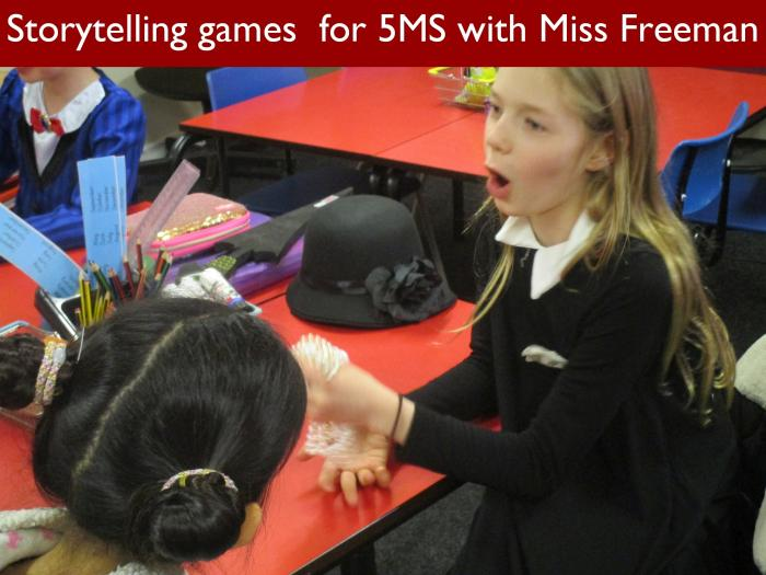 9 Storytelling games for 5MS with Miss Freeman