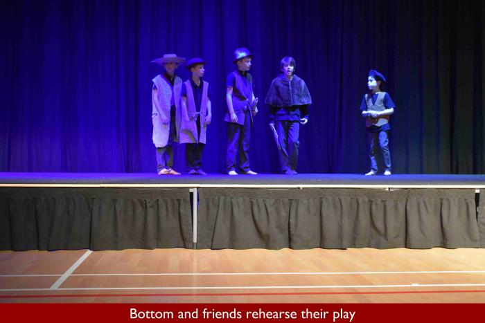 05 Bottom and friends rehearse their play