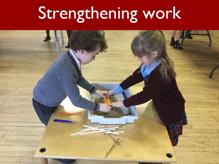 15 Strengthening work
