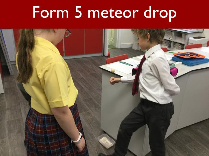 17 Form 5 meteor drop