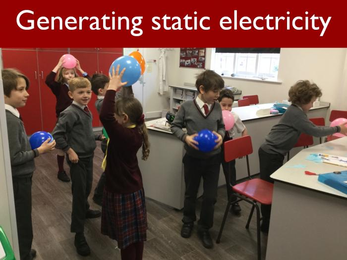 20 Generating static electricity 4SS