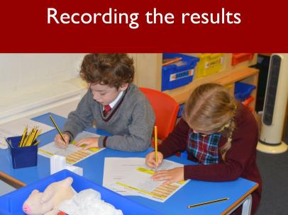 4 Recording the results