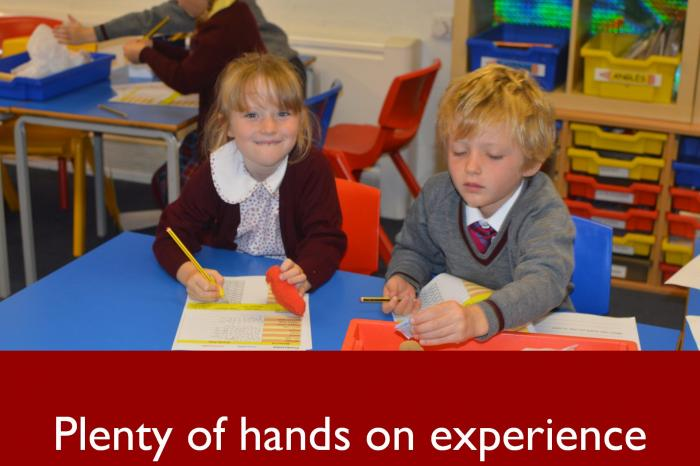 3 Plenty of hands on experience