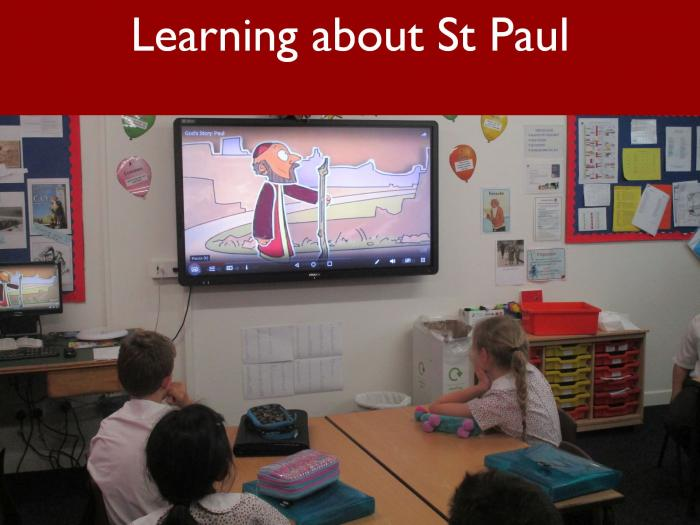 2 Learning about St Paul