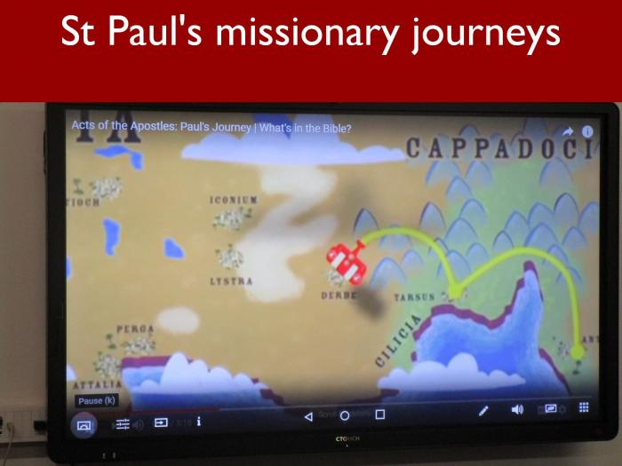 3 St Pauls missionary journeys