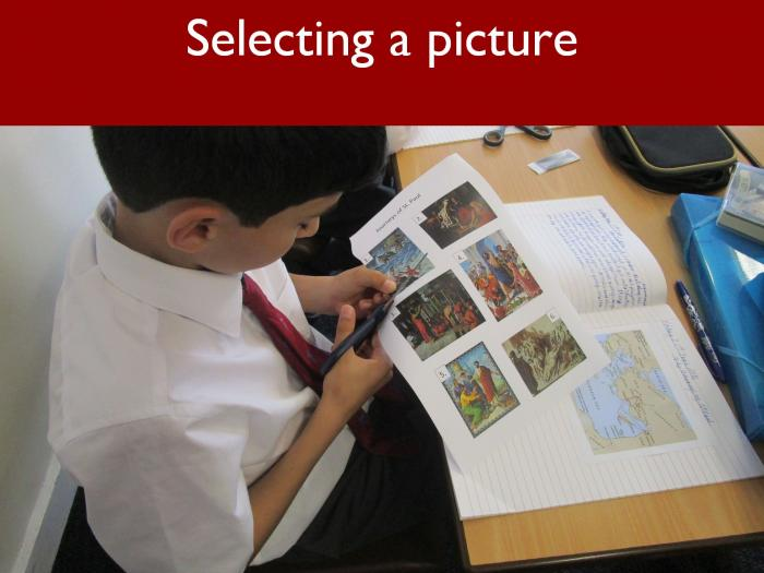 7 Selecting a picture