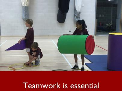 4 Teamwork is essential