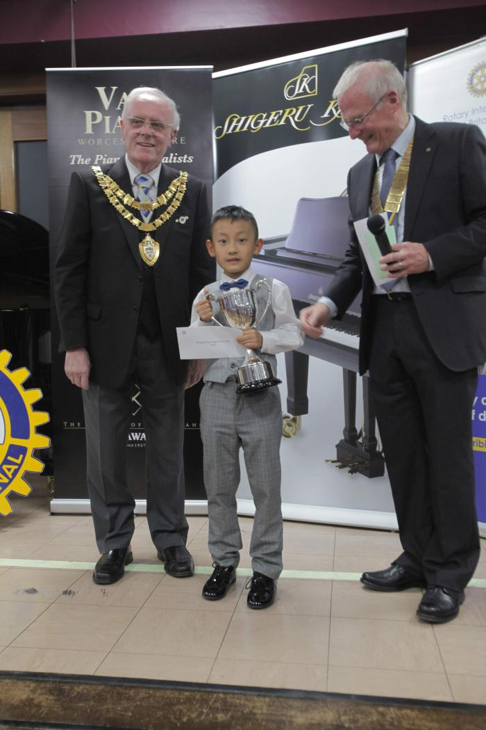 Amazing Aidan takes top prize at Solihull Musician of the year at only 8 years of age