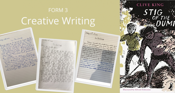 Stig of the Dump: Creative Writing Form 3