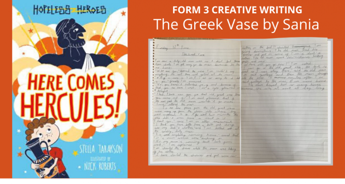The Greek Vase by Sania (3PF): Form 3 Creative Writing