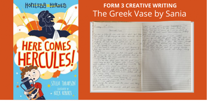 3PF The Greek Vase Creative Writing Twitter