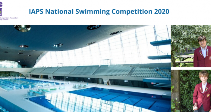 Flying Through to the IAPS National Swimming Championships 2020