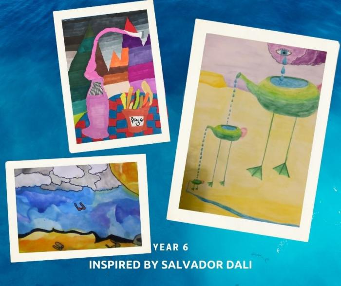 Art Yr 6 inspired by Salvador Dali 2