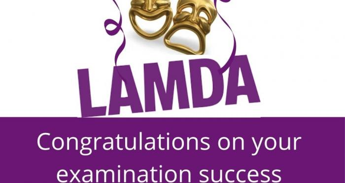 Pupils rewarded with top marks in LAMDA Exams