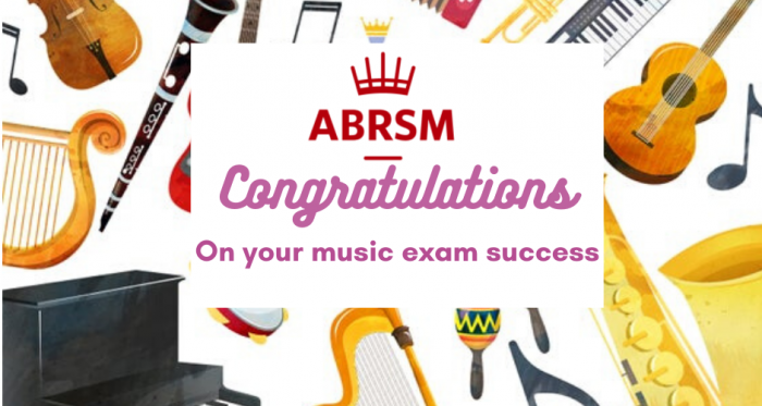 Success for Musicians in their ABRSM Exams