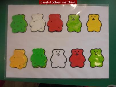 10 Careful colour matching